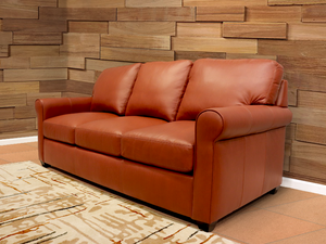 281-01 Beaufort Leather Sofa
