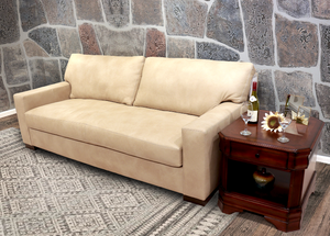 420-03 Miami Leather Sofa