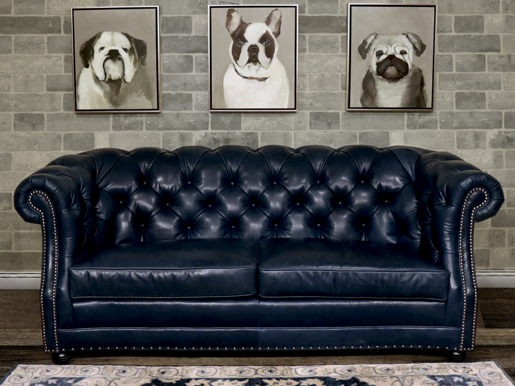 623-03 Manhattan Leather Sofa