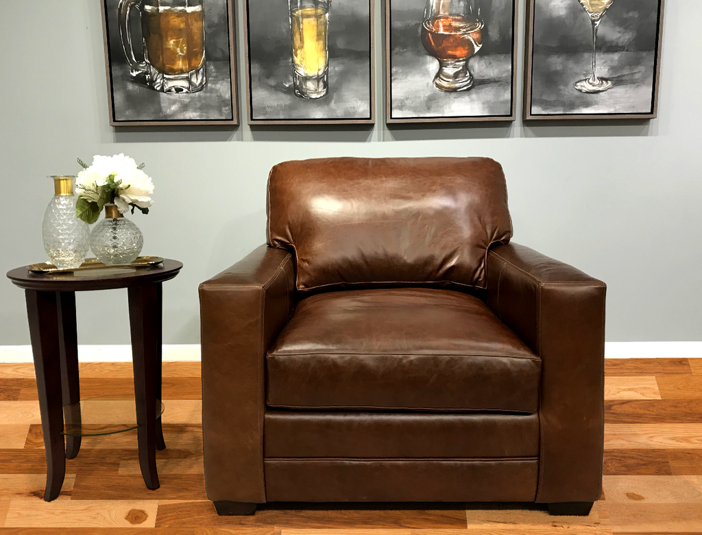 550-016 Restoration Leather Chair