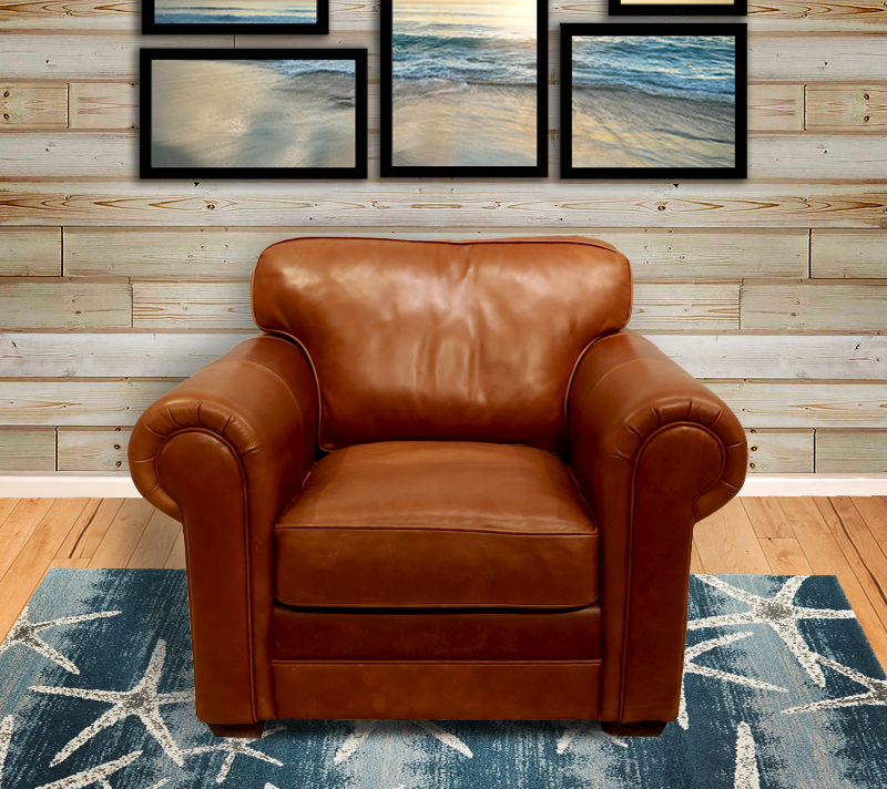 554-01 Tanner Leather Chair
