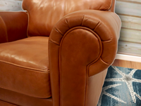 535-01 Nantucket Leather Chair