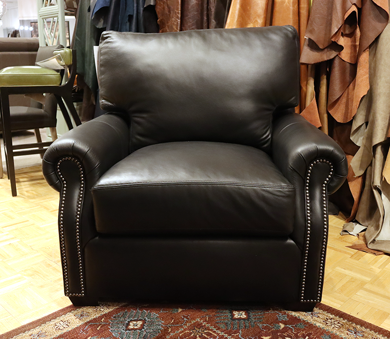 535 CP Leather Chair - Factory Outlet