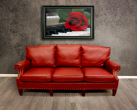 1334-03 Kent Leather Sofa