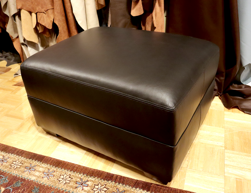 535 CP Leather Ottoman - Factory Outlet