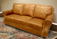 555-03 Park City Leather Sofa