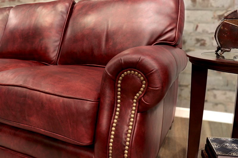 535 Nantucket Leather Sofa - Factory Outlet