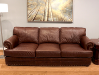 507 Tahoe Leather Sofa - Factory Outlet