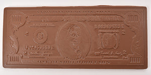 Milk Chocolate $100 Dollar Bill