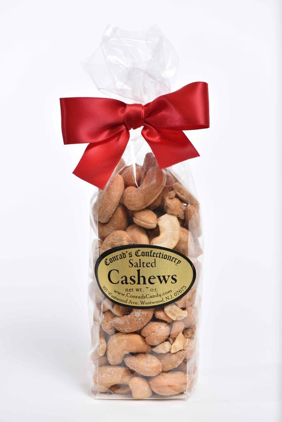 Bag of Salted Cashews w/ Bow