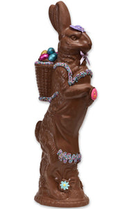 "Milk Chocolate Easter Bunny # 41 - ""Medium Apron"" - Conrad's Confectionery"