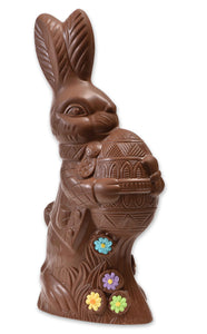 "Milk Chocolate Easter Bunny # 47 - ""Large Bunny Holding Egg"""