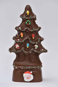 "14"" Milk Chocolate Large ""Angel"" Christmas Tree Model X-15 - Conrad's Confectionery"