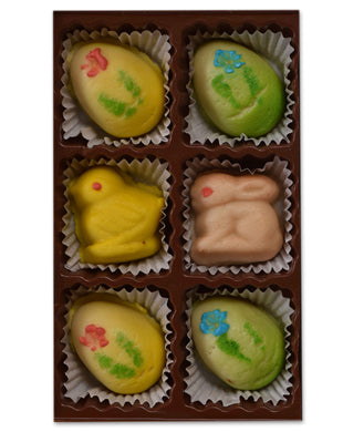 6 Piece Marzipan Box - Conrad's Confectionery