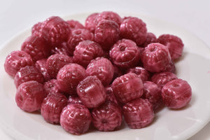 Filled Raspberries Hard Candy (8oz)