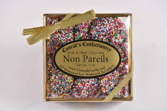 Milk & Dark Chocolate Non-Pariels Decorative Gold Box