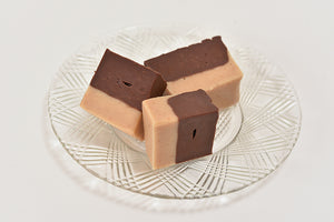 Milk Chocolate & Peanut Butter Fudge