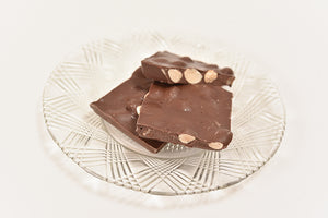 Sugar Free Milk Almond Bark (Half Pound Box) - Conrad's Confectionery