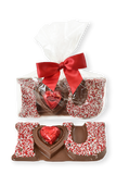 "Valentine's Day Milk Chocolate ""I Heart You"" - Conrad's Confectionery"