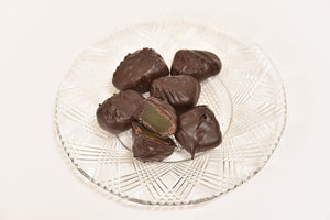 Dark Chocolate Ginger (Half Pound Box) - Conrad's Confectionery