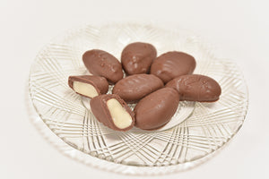 Milk Chocolate Brazil Nuts (Half Pound Box) - Conrad's Confectionery