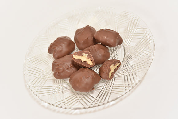 Milk Chocolate Walnuts (Half Pound Box) - Conrad's Confectionery
