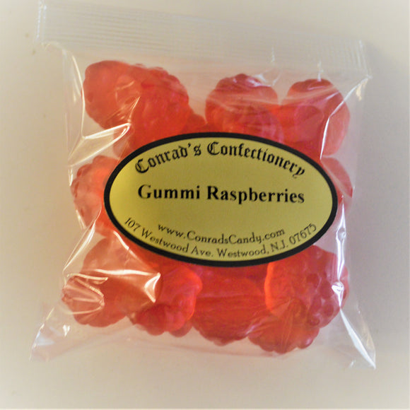 Gummi Raspberries- 4 oz bag