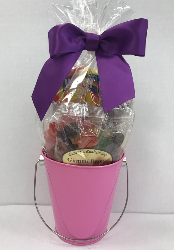 Pink School Spirit Gift Bucket