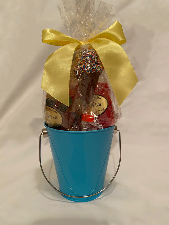 Turquoise School Spirit Gift Bucket