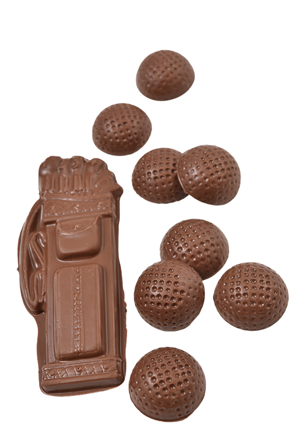 Milk Chocolate Golf Set (Solid)