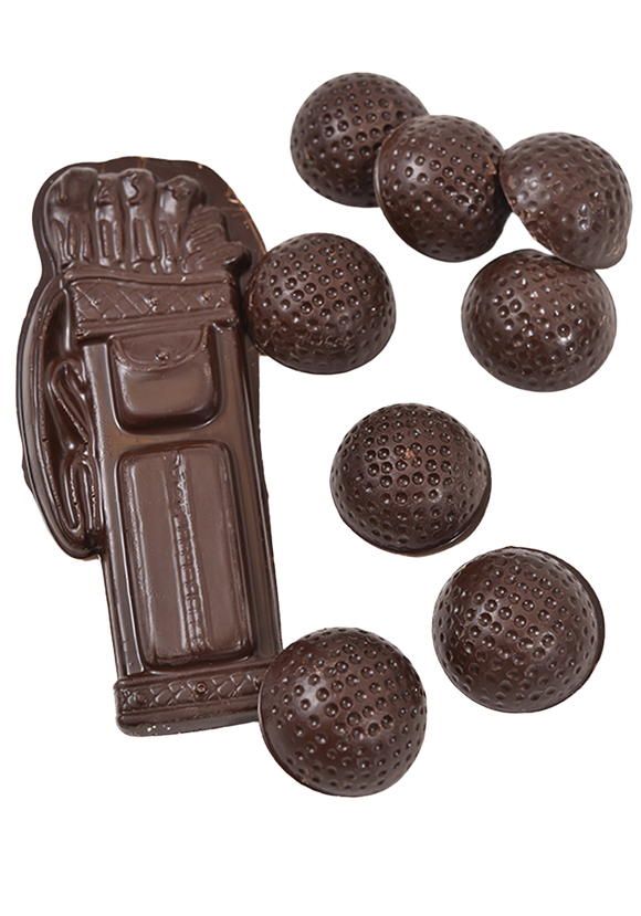 Dark Chocolate Golf Set (Solid)