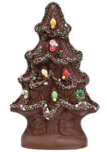 "11""  Milk Chocolate ""Angel"" Christmas Tree Model X-11 - Conrad's Confectionery"