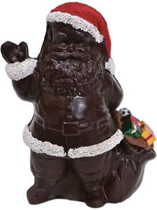 "10"" Dark Chocolate ""Bag"" Santa Model X-103 - Conrad's Confectionery"