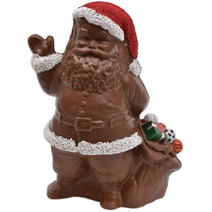 "10"" Milk Chocolate ""Bag"" Santa Model X-14 - Conrad's Confectionery"