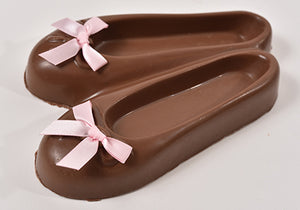 Milk Chocolate Ballet Slippers (Hollow) - Conrad's Confectionery