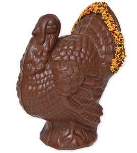 "Milk Chocolate Thanksgiving hollow 6"" model ""C"" Turkey"