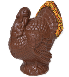 "6"" Milk Chocolate model ""C"" Turkey - Conrad's Confectionery"