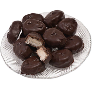 Dark Chocolate Coconut Eggs (Half Pound Box) - Conrad's Confectionery