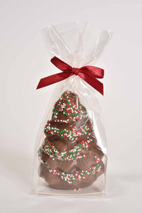 "3"" Milk Chocolate Mini Christmas Tree - Conrad's Confectionery"