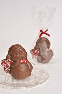 "3.5"" Milk Chocolate Mini Snowman - Conrad's Confectionery"