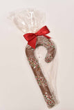 "8.5"" Milk Chocolate Candy Cane - Conrad's Confectionery"