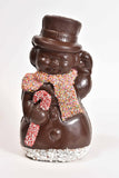 "12"" Dark Chocolate Large Snowman Model X-106 - Conrad's Confectionery"