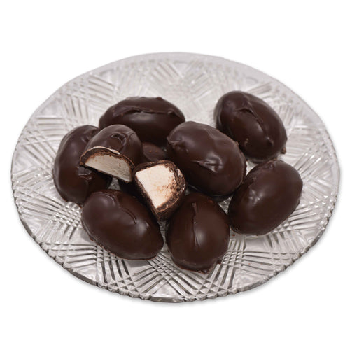 Dark Chocolate Marshmallow Eggs (Half Pound Box) - Conrad's Confectionery