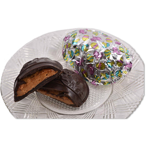 Dark Chocolate Big Foiled Peanut Butter Egg - Conrad's Confectionery