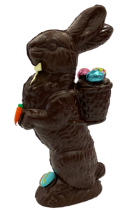 "12.5"" Dark Chocolate Easter Bunny # 98 - ""Large Fred's Favorite"""