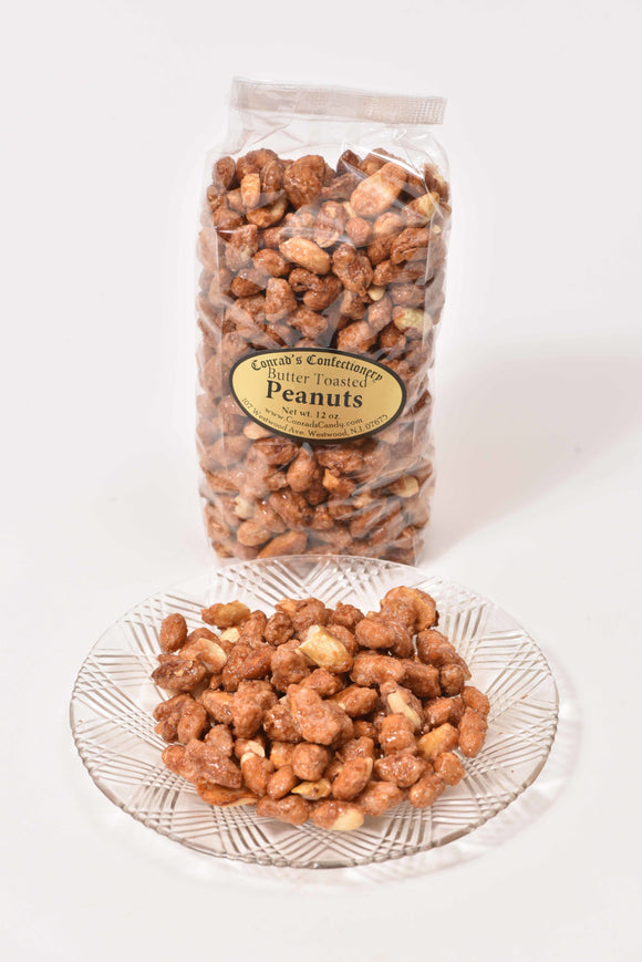 12 oz Bag of Butter Toasted Peanuts