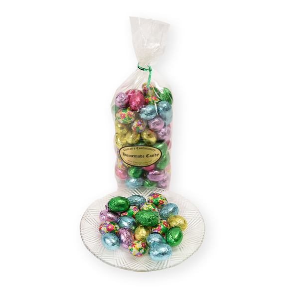 Milk Chocolate Foiled Eggs - 8 oz bag