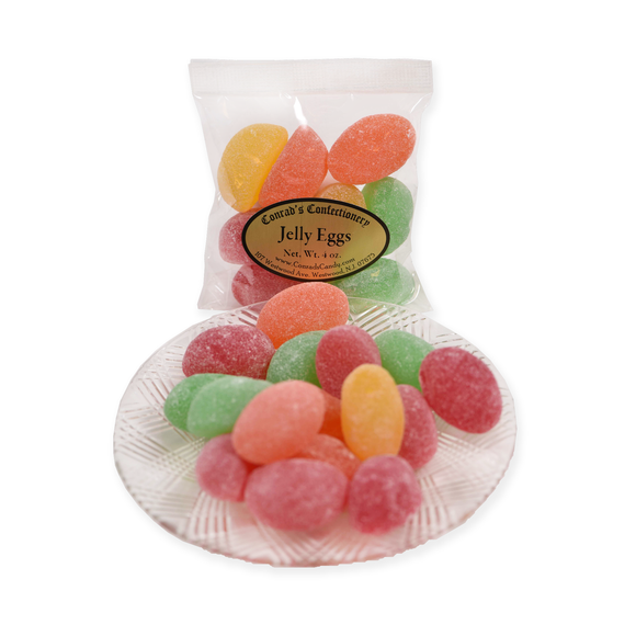 Jelly Eggs- 4 oz bag
