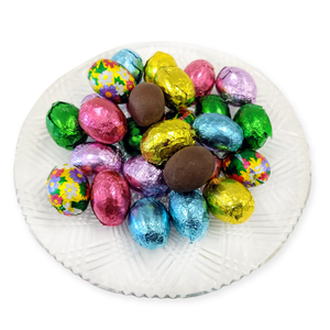 Milk Chocolate Foiled Eggs (loose) (Half Pound Box)