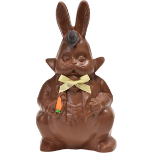 "9"" Milk Chocolate Easter Bunny # 36 - ""Formal Bunny"""